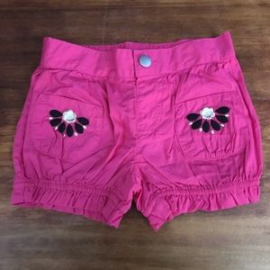 NWT Gymboree Pink Shorts 18-24m